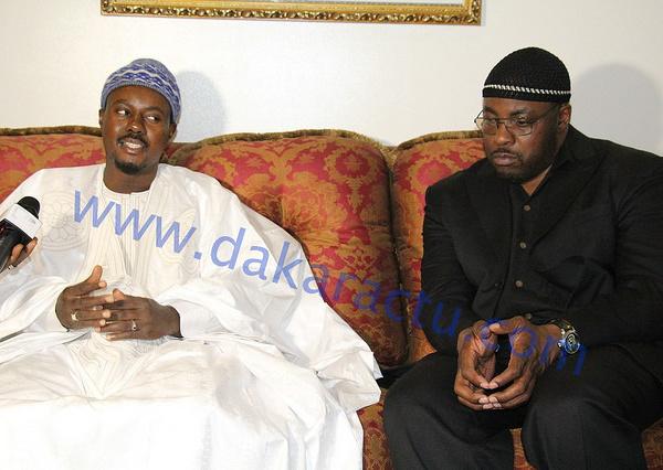 Serigne Bass Abdou Khadre recevant une délégation d'Imams Américains : « Que le monde sache que la voie du mouridisme, c'est l'Islam… ».