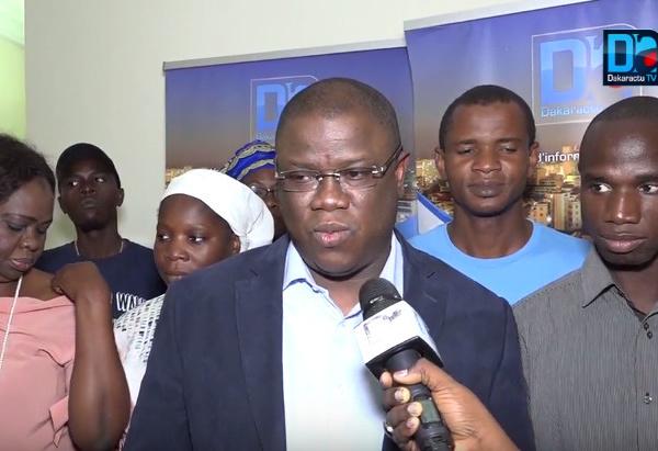 """Abdoulaye Baldé  (Kaddu Askan Wi) : """"Il n'y a pas d'âge pour faire la politique. Karim? Nous pouvons être amis et avoir des ambitions différentes"""""""