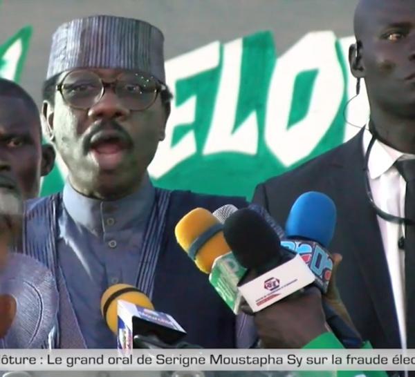 Meeting de clôture : Le grand oral de Serigne Moustapha Sy sur la fraude électorale