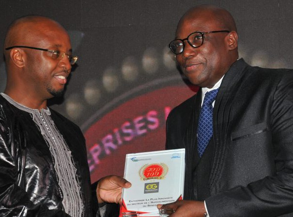 Eurogerm Sénégal a été sacrée entreprise la plus innovante du secteur de l'Agro-alimentaire.