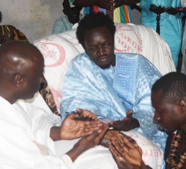 Mbour : Baye Omar Mbacké Hamidoune (fils du défunt Khalife général de Darou Salam), liste ses doléances devant Idrissa Seck