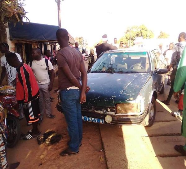 Accident de la circulation à Kolda : Il s'en est fallu de peu…