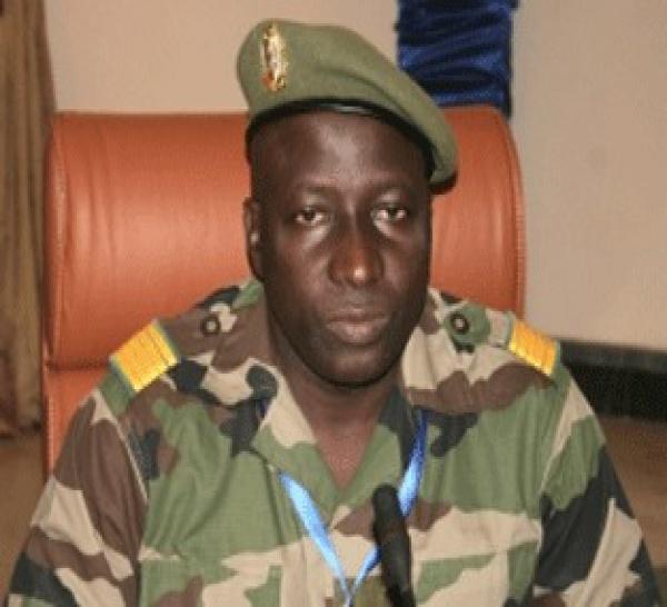 Le colonel Moussa Keita arrêté