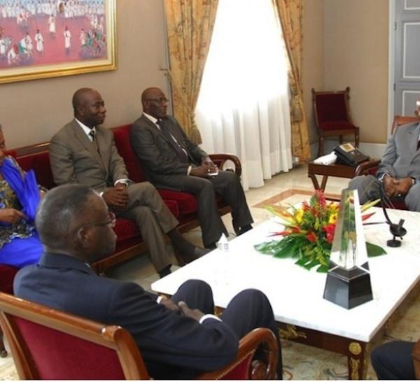 Abdoulaye Wade a associé le Groupe des six à l'élaboration de son discours de ce 14 juillet.