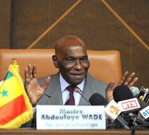 La journée du 14 juillet d'Abdoulaye Wade.