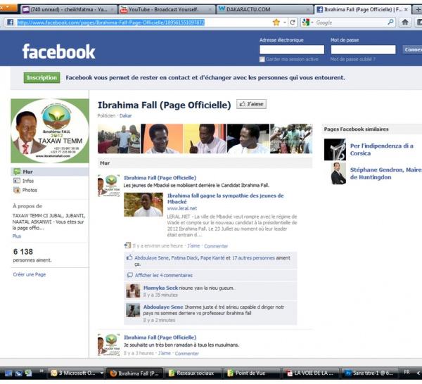 Cybernotoriété : Ibrahima Fall devance Abdoulaye Wade, Macky Sall, Ousmane Tanor Dieng et Idrissa Seck.