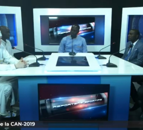 """[🔴REPLAY ] Sénégal - Revivez votre émission """"Reporters Sportifs"""" [Spécial tirage CAN 2019]"""