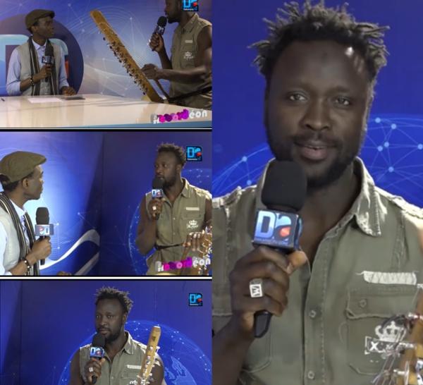 """""""Accordéon"""" reçoit Amadou Diolo : « La jeunesse africaine doit porter le futur positif du continent »"""