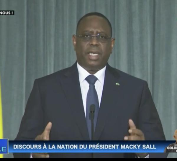Covid-19 - Renforcement de la capacité de riposte : Le président Macky Sall donne les détails du programme de résilience économique et sociale.