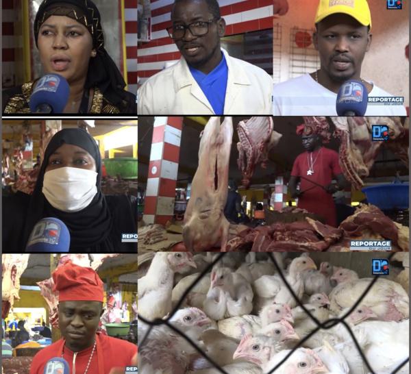 Flambée des prix de la viande et du poulet : Une rude épreuve budgétaire pour les ménages à l'approche de la Korité.