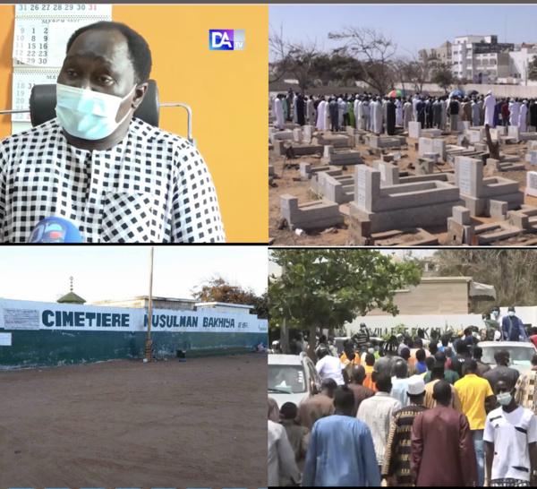 De Yoff au cimetière de Keur Mame El hadji Ndiéguène de Thiès : les cas d'inhumation ont doublé en deux semaines...