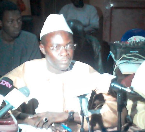 Modou Mbacké Bara Dolly (Apr -Touba) : ' Point de coordinateur parachuté! '