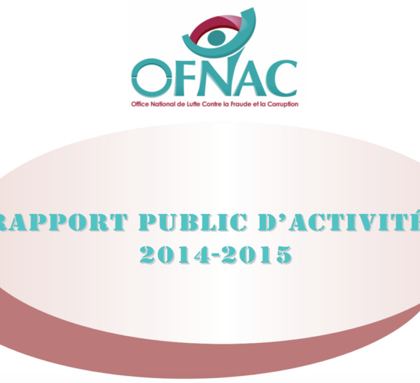 LE RAPPORT DE L'OFNAC 2014-2015 (DOCUMENTS)