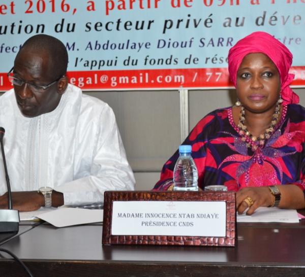 Université de la décentralisation : Abdoulaye Diouf Sarr magnifie le rôle du secteur privé