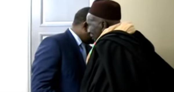 Serigne Mame Thierno Bachir Awa Balla MBACKE reçu par le Président Macky SALL