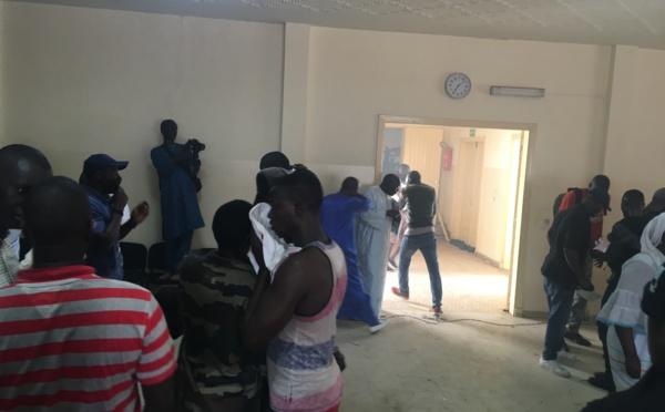 Les images de la violence au bureau politique du Parti Socialiste à Colobane