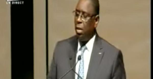 Conseil National de l'APR :  Le Président Macky SALL galvanisant ses troupes (Vidéo)