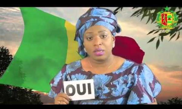 Référendum - Spot Présidence pour le OUI