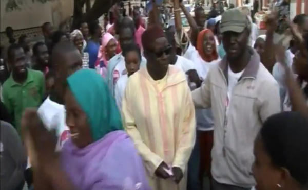 Serigne Mansour Sy Djamil et Khalifa Sall à Grand-Dakar pour dire NON