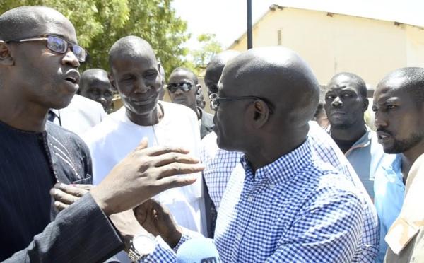 Vidéo : Accrochage verbal entre Thierno Alassane SALL et Yankhoba DIATTARA au centre Aly Bâ