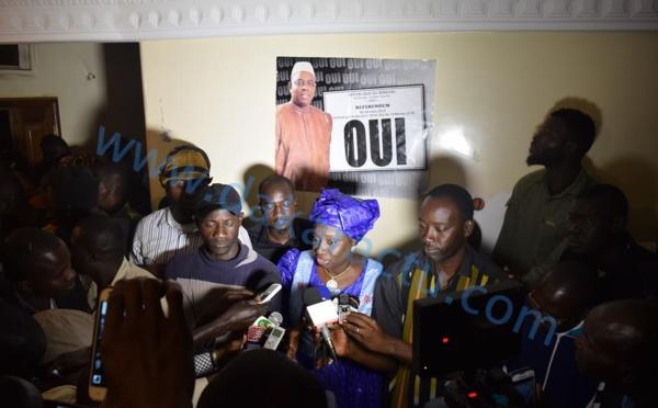 """Mimi Touré au Front du NON et à Khalifa Sall : """" Je les laisse tirer les conséquences de leur défaite """""""