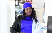 """Thiané Jour-J : """" Le secret de mon foulard, pourquoi j'ai choisi la soie, comment je concilie le boulot et mon rôle d'épouse.... """""""