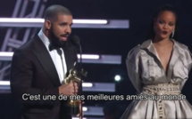 MTV Video Music Awards 2016 : Drake déclare sa flamme à Rihanna et l'embrasse