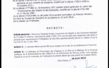 DERNIÈRE MINUTE : Ousmane Sonko révoqué sans suspension des droits à une pension