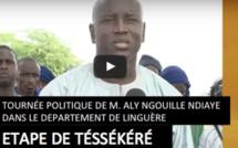 REPORTAGE - Suivez le Film de la Tournée Politique de Aly Ngouille Ndiaye à Linguère, Etape de Téssékéré