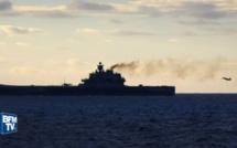 Des navires de guerre russes traversent la Manche sous haute-surveillance