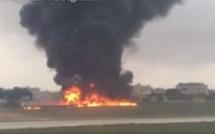 Malte : Un passager filme le crash d'un petit avion