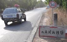 Dakaractu sur la route de Karang, à la frontière sénégalo-gambienne
