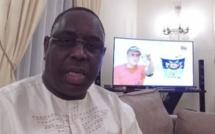 CAN 2017 : Réaction du Président à la mi-temps du match Sénégal/Tunisie