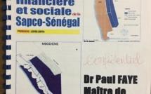 RAPPORT D'ATTAQUE CONTRE BOCAR LY ET LA GESTION DE LA SAPCO : C'est l'ancien DG Paul Faye qui est derrière