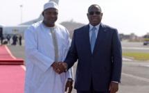 """Adama Barrow : """"J'ai avec Macky Sall, un contact permanent"""""""