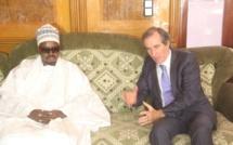 TOUBA - Jean Christophe Bigot hôte du Khalife des Mourides et de son porte-parole