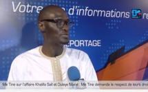 Me Abdoulaye Tine sur les législatives : « Il y a beaucoup d'imperfections dans le système…La violence n'a pas sa place dans une démocratie »