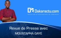 Revue de presse DAKARACTU du Vendredi 24 Novembre 2017 (Français)