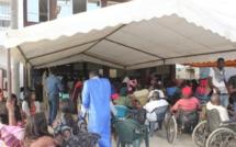 Mbao: Abdou Karim Sall offre 50 béquilles et 10 machines à coudre aux handicapés de Pikine