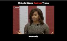C'était hier... : Quand Michelle Obama détruisait Trump avec une terrible justesse
