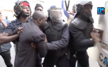 Film de l'arrestation du leader de Agir : Thierno Bocoum malmené par les forces de l'ordre