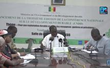 """3ème Edition CNDD/ """"Éviter la malédiction du pétrole au niveau environnemental dans la gestion des ressources"""" (Ministre Mame Thierno Dieng)"""