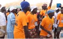 Départ des marcheurs pour le pèlerinage de Popenguine : des pèlerins rendent « grâce » à Maman Marie, le DG du Port en soutien