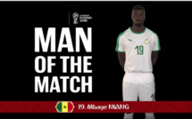 COUPE DU MONDE / SÉNÉGAL CONTRE POLOGNE : Mbaye Niang élu l'homme du match