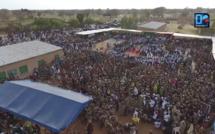 Visite de Aliou Sall à Ngourane : Les images exceptionnelles du meeting vues d'un drone