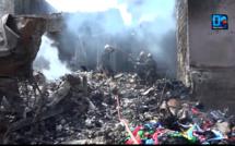 Incendie au marché Thiaroye : 3 heures de pression pour les soldats du feu
