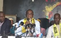 """Mamadou Racine Sy à Thiès : """" Notre mouvement a décidé de soutenir le président de la République pour sa réélection au premier tour en février 2019 """""""