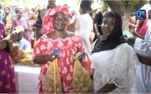 (VIDÉO) TABASKI 2018 - Maguy Mangara soutient 3000 familles entre Diourbel et Keur Samba Kâne en denrées alimentaires.