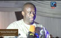 Lancement du mouvement Génération Sénégal émergent : le discours du directeur général du Port de Dakar, Aboubacar Sadikh Bèye