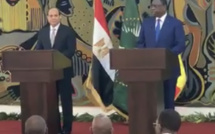 """Rencontre avec la presse : Macky Sall et Abdel Fattah al Sissi """"oublient"""" le Soudan"""